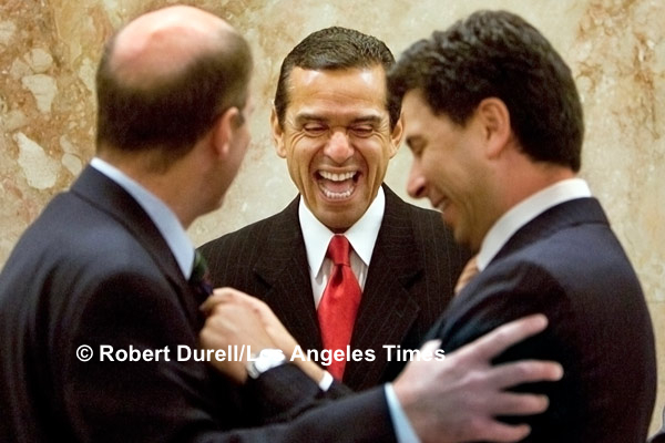 THE MEETING --- In Sacramento, relationships are everything and, sometimes, they endure. As former Assembly speaker and Los Angeles Mayor Antonio Villaraigosa made the rounds, pushing a bill, he ran into his successor, Speaker Fabian Núñez, right a Democrat, and Assemblyman Mark Wyland, a Republican.